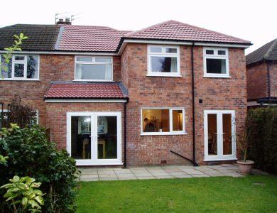 double storey extension 2